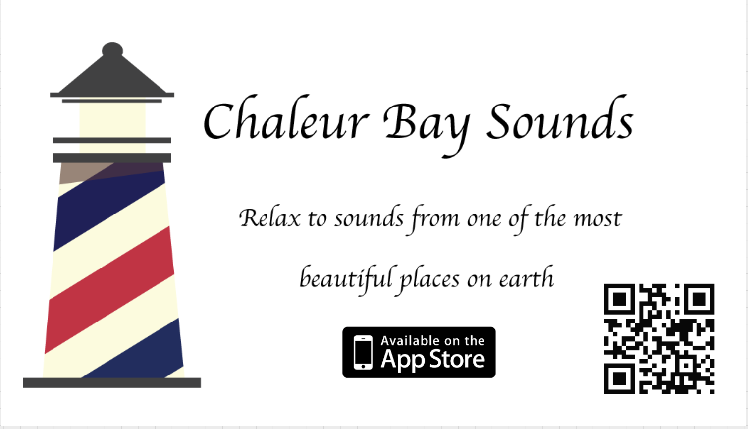 Link to Chaleaur Bay Sounds App