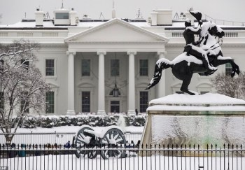 white house snowstorm