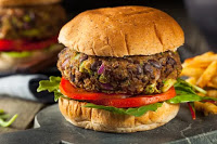 Eating more plant-based burgers could help us avoid environmental catastrophe, according to a new report. (Credit: Shutterstock) Click to Enlarge.