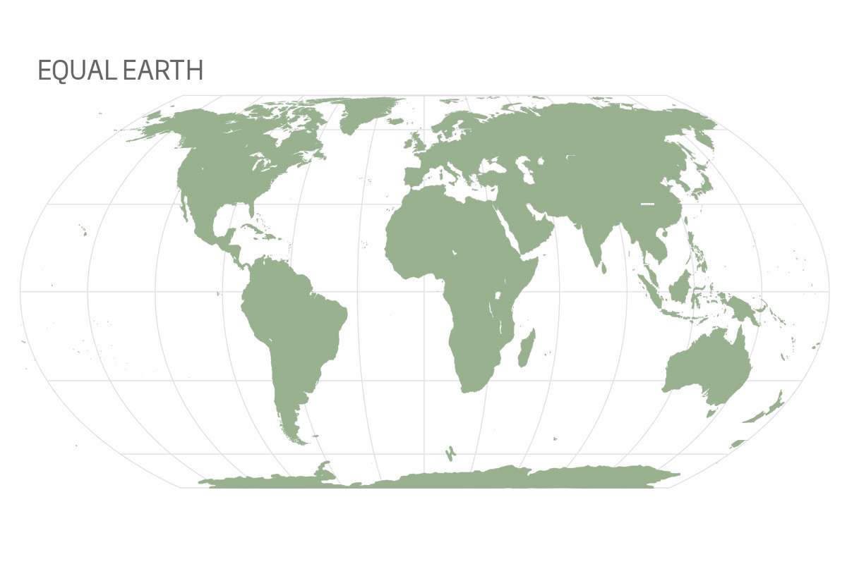 New world map is a more accurate Earth and shows Africa's full