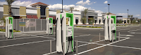 Electrify America to install ultra-fast chargers at 100+ Walmart stores (Credit: treehugger.com) Click to Enlarge.