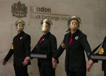 extinction rebellion london stock exchange