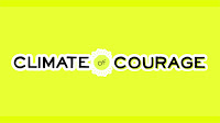 Climate of Courage logo (Credit: grist.org/article/talk-the-climate-talk) Click to Enlarge.