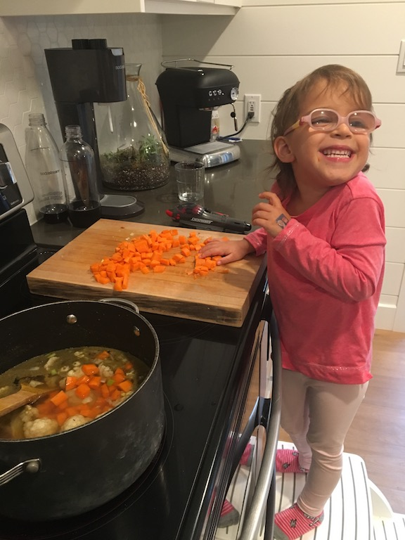 Ivy cooking