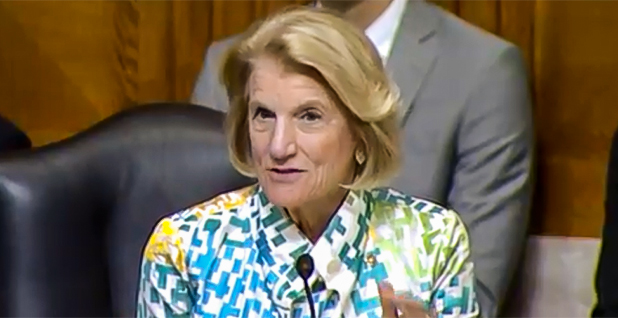 Sen. Shelley Moore Capito (R-W.Va.). Photo credit: Senate Environment and Public Works Committee