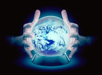 crystal ball earth
