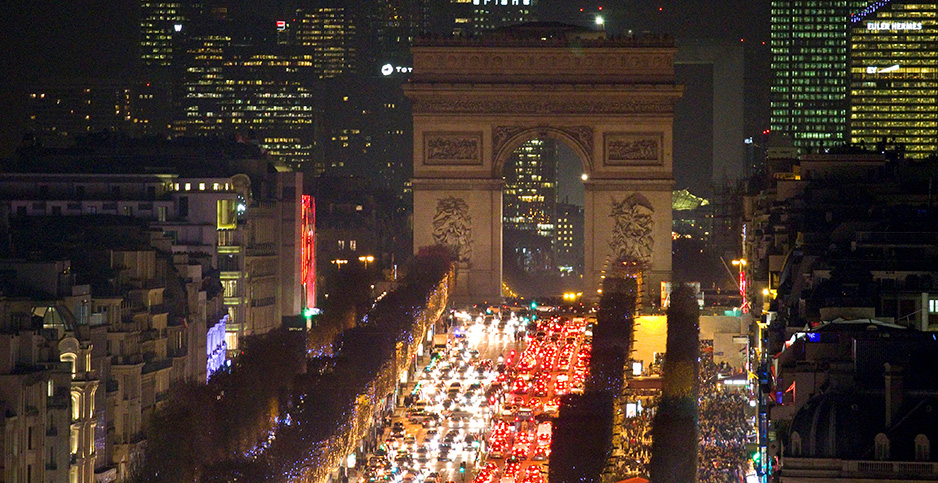 Camps Elysees Avenue in Paris. Photo credit: Charles Platiau/Reuters/Newscom