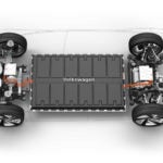 Volkswagen MEB electric car chassis