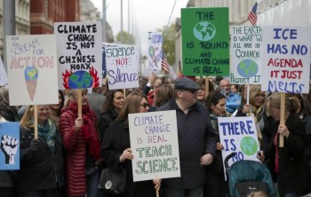 protest doomed planet climate
