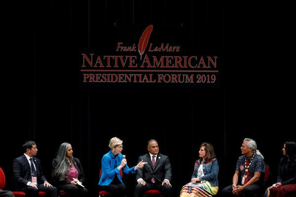 Senator Elizabeth Warren released a plan outlining how she would empower tribal nations last week.