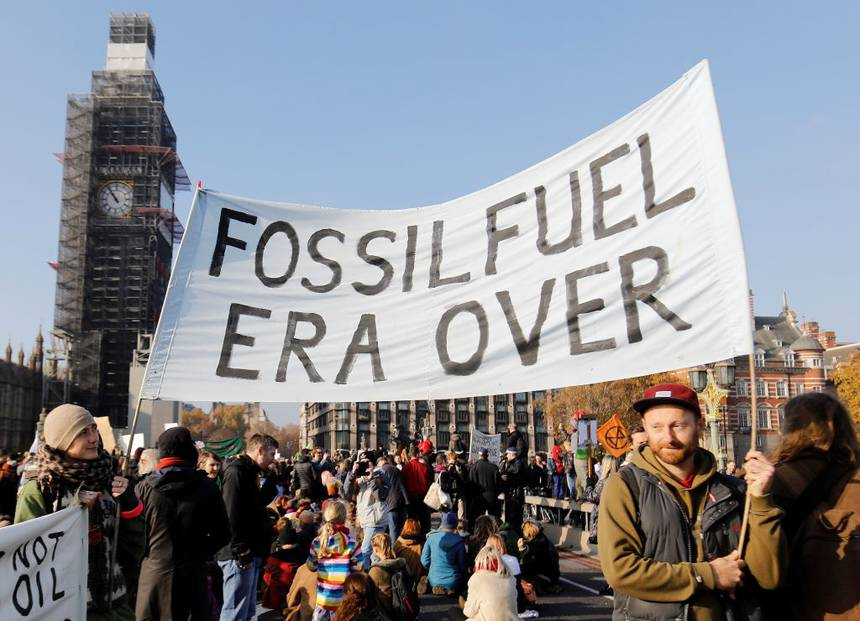 fossil fuel era is over