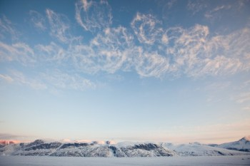 Clouds over Greenland