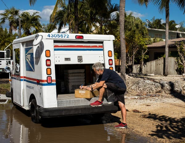 Restaurants no longer deliver to Stillwright Point, but the Postal Service still comes.