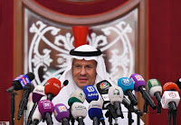 Saudi Energy minister Prince Abdulaziz bin Salman speaks during a news conference in Jeddah (Credit: © Reuters/Waleed ali file photo) Click to Enlarge.