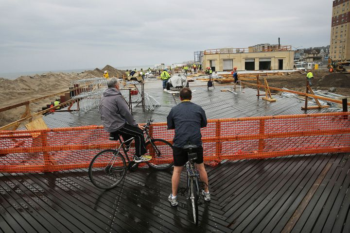 Neighborhoods in the Rockaways remained damaged for months after 2012's Superstorm Sandy.