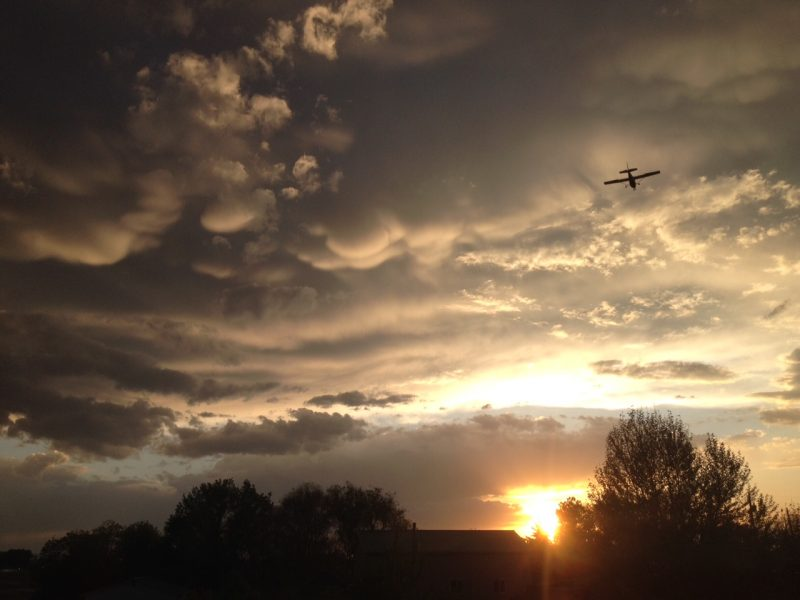 <a href='https://earthsky.org/upl/2015/05/sunset-mammatus-clouds-Andrew-Ashton-Mammatus clouds at sunset submitted by Andrew Ashton in Nampa, Idaho. Thanks, Andrew!