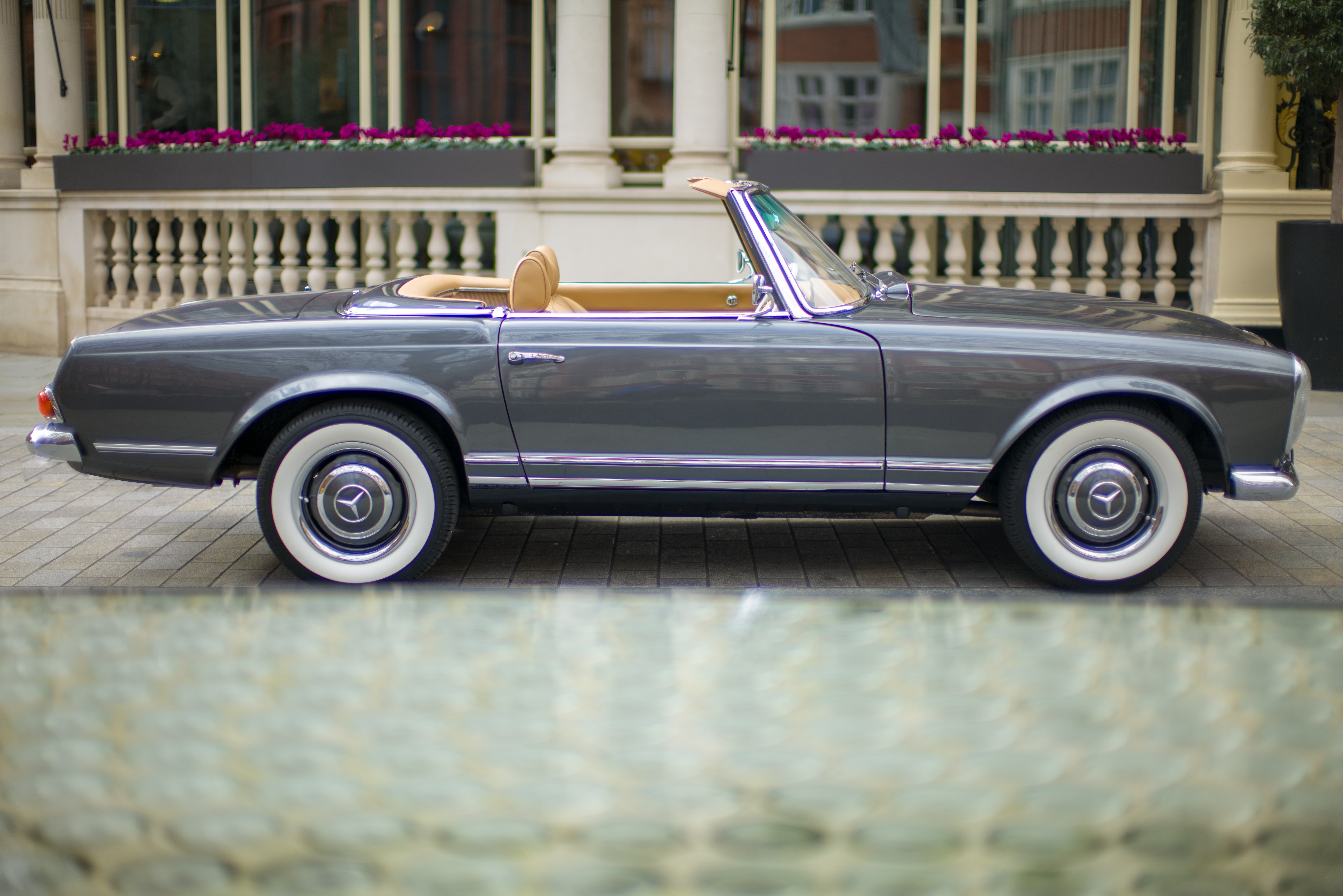 All-electric Mercedes Pagoda