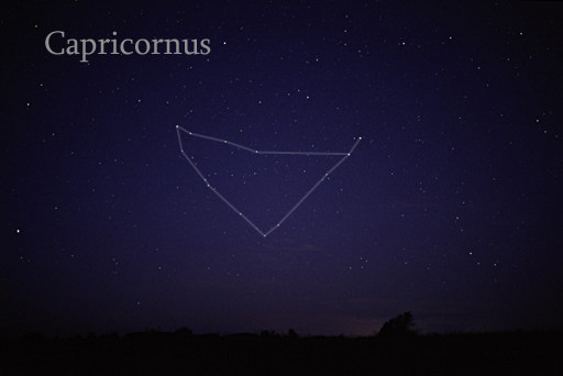 Triangular constellation of 12 stars connected by lines.