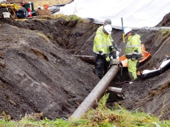 pipeline diggers